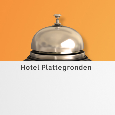 Hotel plattegrond